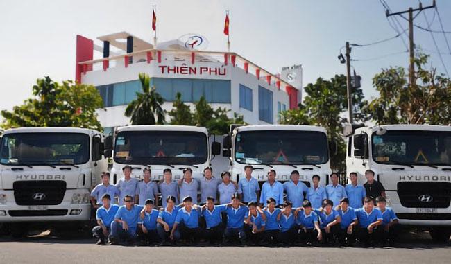 Công ty vận tải Thiên Phú